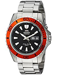 Orient Men's FEM75004B9 Mako XL Stainless Steel Watch