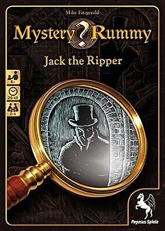 Pegasus Spiele 18230g Mystery Rummy Jack The Ripper Kartenspiel