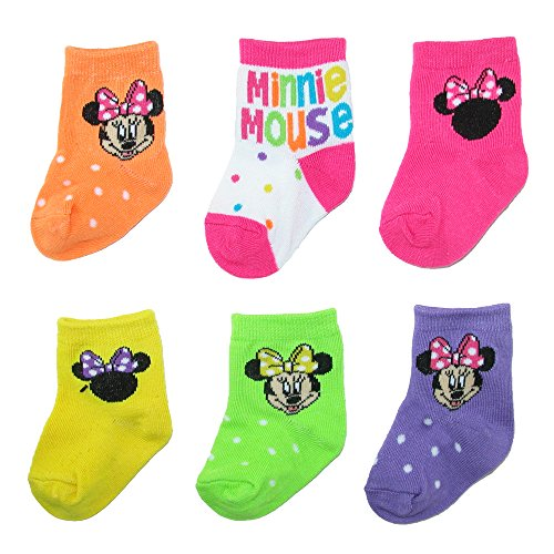 disney-baby-girls-minnie-mouse-socks-6-pair-pack-0-6-months-multi