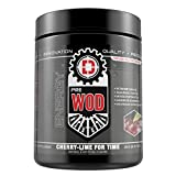 PRE WOD- The Ultimate Cognitive Enhancing Pre-Workout Supplement-50 servings- Increase focus and sustained energy (Cherry Lime For Time)