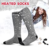 Rechargeable Electric Battery Heated Socks Kit Cold Weather Thermal Socks Battery Powered Heat