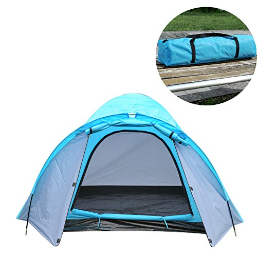 Price comparison product image ShinyFunny 3-4 Person Four Season Waterproof Family Outdoor Camping Traveling Backpacking Instant Sports Tent with Carry Bag