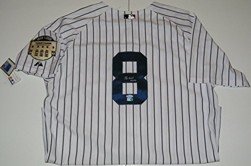 Yogi Berra Signed Autographed Auto New York Yankees Authentic Jersey w/HOF 72 - MLB Authentic
