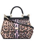 Dolce E Gabbana Women's BB6003AG128HAA1F Multicolor Leather Handbag
