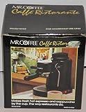 Mr. Coffee hot expresso and Cappucinno maker