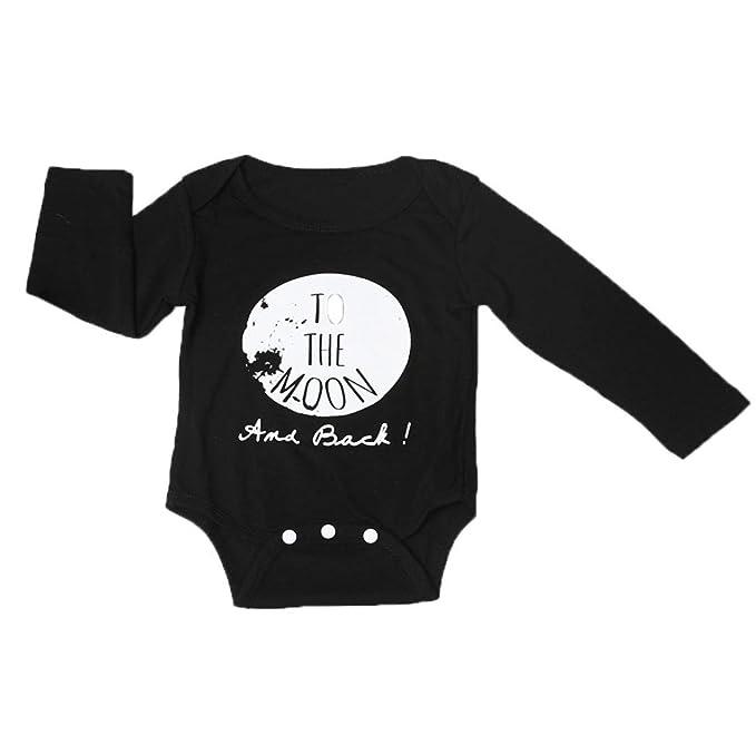 Kingko® Recién Nacido Verano Otoño Ropa Infantil niños bebé niño Niña Pelele Body Jumpsuit Outfit Ropa: Amazon.es: Ropa y accesorios