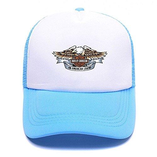 D Cap Gorras Baseball Blue Mesh For Harley Girl Hat Black Men 008 Sky Boy Trucker béisbol de Caps Women 1qnFd