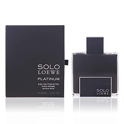 Loewe Solo Loewe Platinum Vaporizador Agua de Colonia - 50 ml