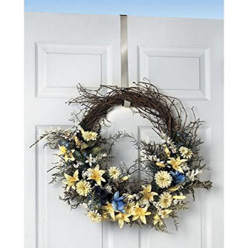 - Spectrum Satin Nickel Design Over The Door 1
