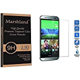 Marshland® HTC DESIRE 820G PLUS High Quality Premium Smooth & Softer Tempered Glass Screen Protector 2.5D Round Edge, 0.33mm Thickness, 9H Hardness, Anti Glare, Anti Explosion, Anti Scratch, Bubble-free, Oleo phobic Coating.