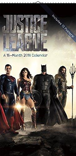 Justice League 2018 Poster Calendar