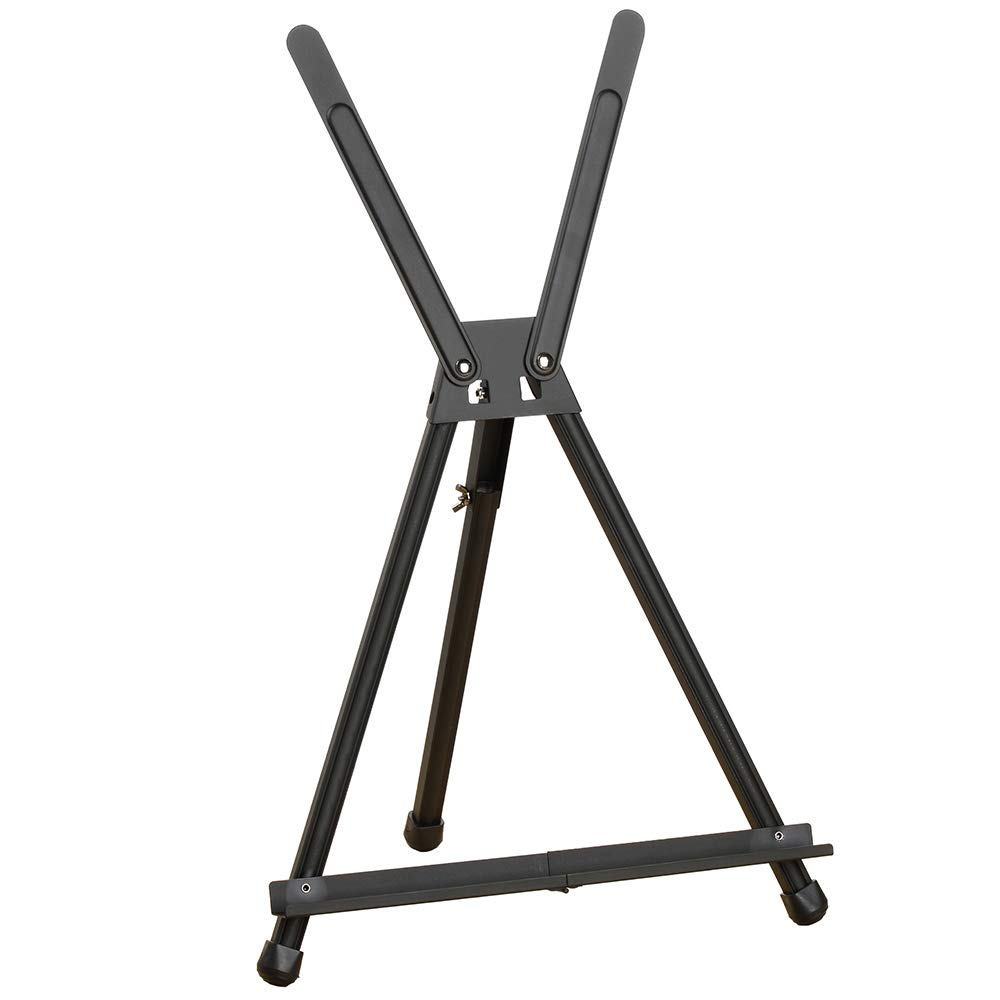 Quartet Easel, Tabletop Display, with Integrated Support Wings, 14'', Black (BSTT2430)