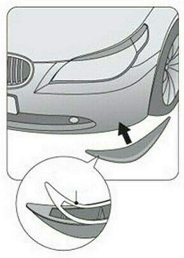 Modello di carbonio 4 pezzi Spoiler per carrozzeria universale Paraurti anteriore Lip Splitter Alette Trim Alette splitter per paraurti