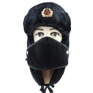 JJHR Sombreros y gorras Insignia Militar Soviética Ushanka ...