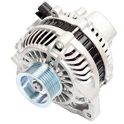 SCITOO Alternators fit 11176 fit Honda Civic 2006 2007 2008 2009 2010 2011 1.8L AMT0187 80A S7