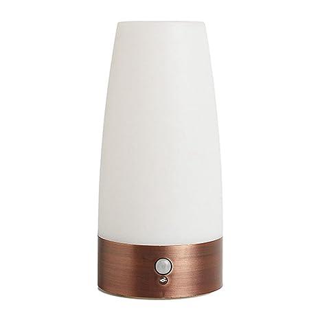 TOOGOO Smart sensor LED luz de noche lampara control de luz hogar creativo pequeno lampara de