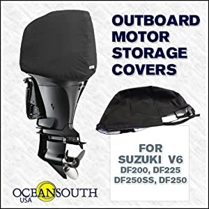 Oceansouth custom fit storage covers for for Suzuki outboard motors reviews