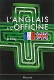 L'anglais à l'officine