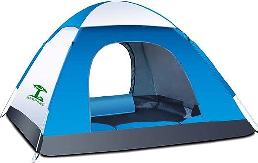 outdoor product Carpa para 2 Personas, Tienda de Campaña Familiar al Aire Libre, Senderismo Tiendas de Impermeabilización, Tienda de Playa Portátil con Protección UV: Amazon.es: Hogar