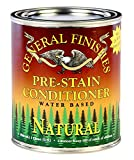 General Finishes Water Based Wood Stain, 1 Gallon, Natural