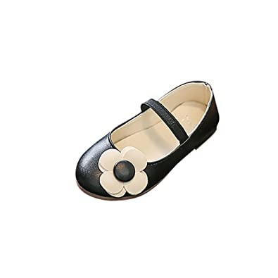 17f26ec78ae78  Mangjiu  ガールズシューズ 子供 女の子子供花革靴滑り止め姫の靴七五三