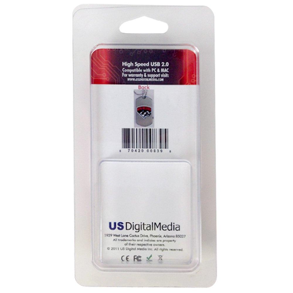 Universidad de Nuevo México Lobos Disco Etiqueta de flash usb de 8 GB: Amazon.es: Deportes y aire libre