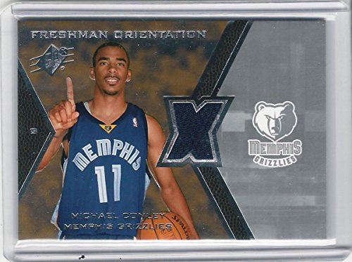 2007-08 Upper Deck SPx Basketball Card # FO-MC Michael Conley RC