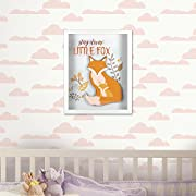 Linden Ave Wall Décor AVE10019 Stay Clever Little Fox