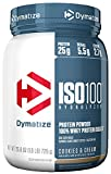 Dymatize ISO 100 Whey Protein Powder Isolate, Cookies and Cream, 1.6 lbs