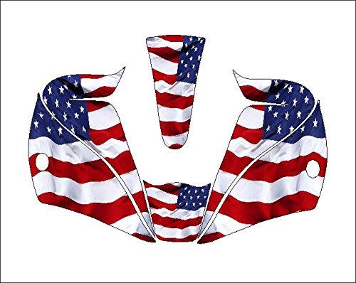 lincoln viking 2450 3350 welding helmet hood decal stickers jig american flag