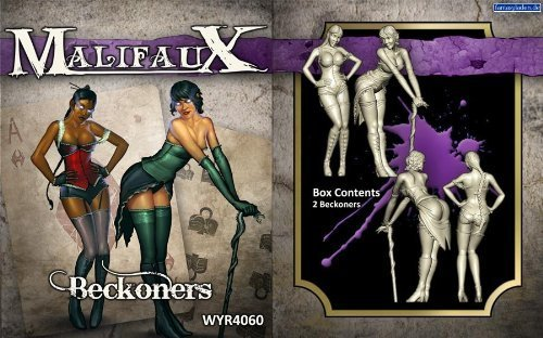 Wyrd Miniatures Malifaux Neverborn Beckoners Model Kit (2 Pack) [parallel import goods]