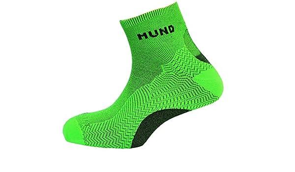 Calcetín Mund Socks TREKKING/RUNNING antiampollas, antibacteriano y terapéutico. Pie izquierdo y derecho diferenciados: Amazon.es: Deportes y aire libre