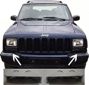 bbf574d92217c Jeep Cherokee XJ 97-01 FRONT Indicator Black: Amazon.co.uk: Car ...