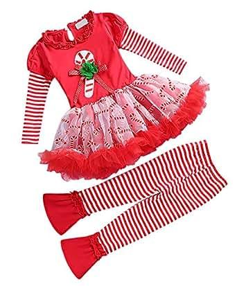 Amazon.com: Jurebecia Little Girls Christmas Long Sleeve