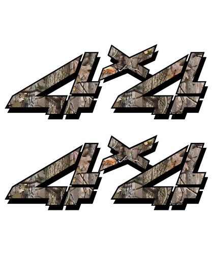 4x4-sticker-set-for-Chevy-GMC-Sierra-Silverado-Truck-timber-camouflage-hunting-camo-decal