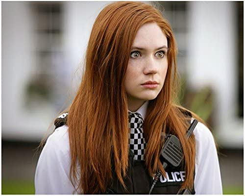 Doctor Who Karen Gillan as Amy Pond Soothsayer in Police Gear 8 x ...