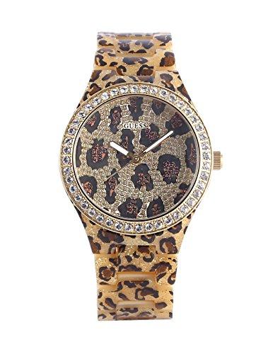 Guess W0015L2 Seductive Ladies Watch - Animal Print Dial