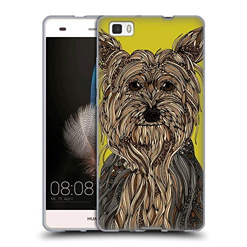 Yorkshire Ale - Official Valentina Yorkshire Terrier Dogs Soft Gel Case for Huawei P8lite / ALE-L21