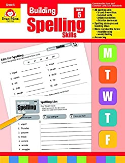 Amazon building spelling skills grade 4 9781557998422 evan building spelling skills grade 5 fandeluxe Gallery