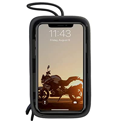 Five Bananas Motorcycle Tank Bag, Magnetic Touch Screen Motorcycle Waterproof Large Cell Phone Case Holder for iPhone/Android up to 6.7 Inch: Automotive