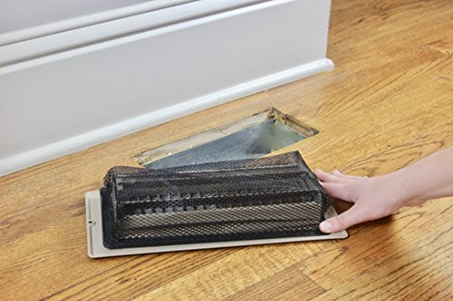 Floor Register Trap - Screen for Home Air Vents 4''x10'' by Floor Register Trap (Image #3)