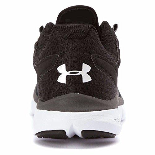 Under Armour Micro G Velocity - Zapatillas de running de Material Sintético para hombre Negro negro, blanco