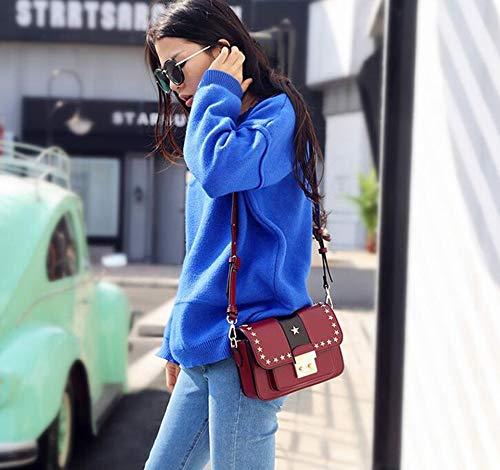 Petit Femme Main Oblique Sac Fashion Sac à Cuir D côté Sxuefang Sac ZYqAUw