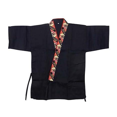 Chaqueta japonesa del jefe de la cocina del sushi del ...