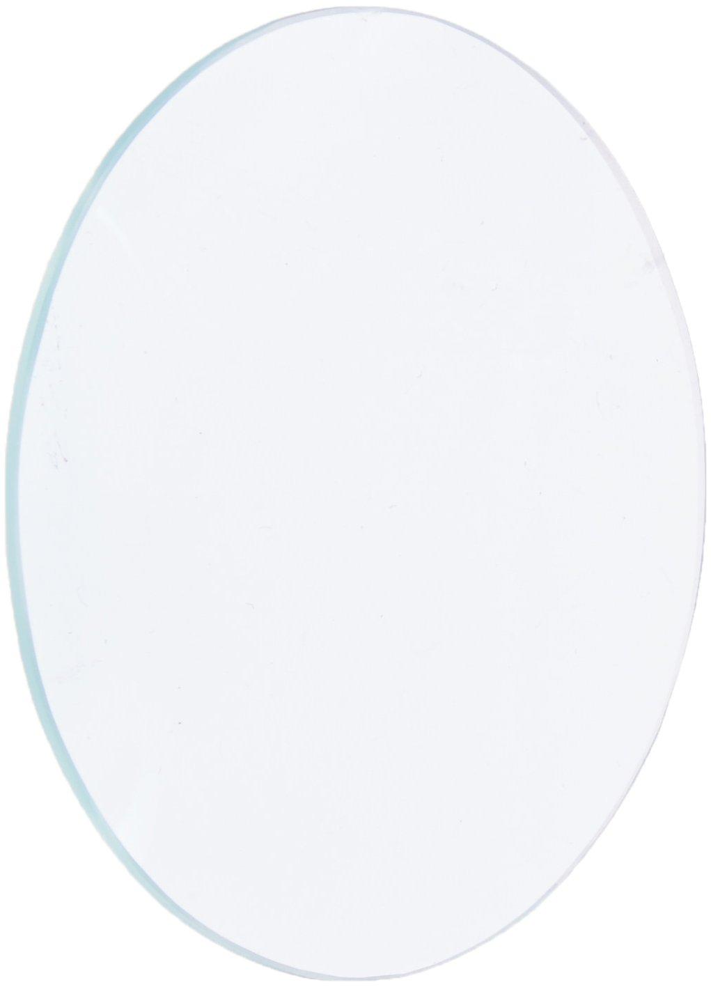 Ajax Scientific Polished Glass Double-Convex (Bi-Convex) Lens, Spherical, 50 mm Diameter, 250 mm Focal Length LI152-0250