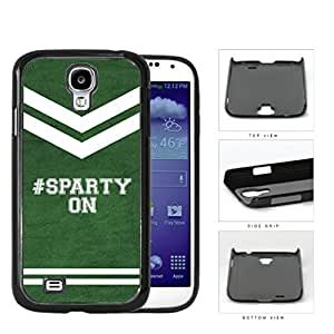 Hashtag Sparty On School Spirit Slogan Chant Samsung Galaxy S4 I9500 Hard Snap on Plastic Cell Phone Cover