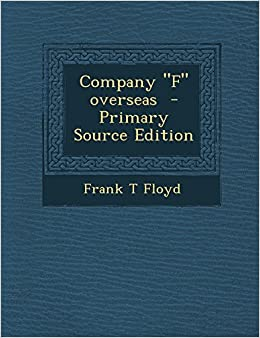 Amazon in: Buy Company F Overseas - Primary Source Edition