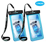Zcton Underwater Phone Case Dry Bag, Waterproof Phone Pouch for iPhone X, 8/7/7 Plus/6S/6/6S Plus, Samsung Galaxy S9/S9 Plus/S8/S8 Plus/Note 8 6 5 4, Google Pixel 2 HTC LG Sony Moto up to 6.0″ For Sale