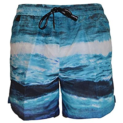 Calvin Klein Mens Luxe Medium Drawstring Swimshort