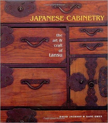 Japanese Cabinetry: The Art U0026 Craft Of Tansu: David Jackson, Dane Owen:  0082552021139: Amazon.com: Books